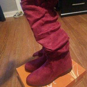 Fall long boots